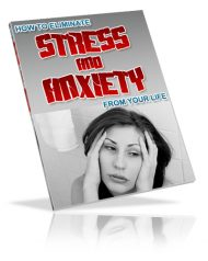 cover-large  How to Eliminate Stress and Anxiety PLR eBook cover large 190x238
