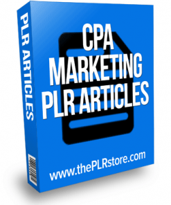 cpa marketing plr articles