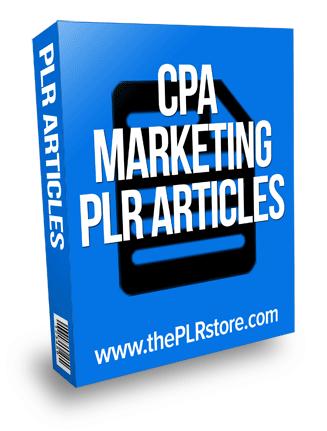 cpa marketing plr articles
