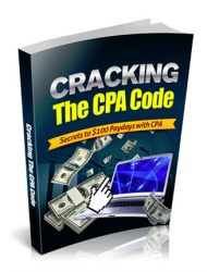 cracking the cpa code ebook cracking the cpa code ebook Cracking the CPA Code Ebook with Master Resale Rights cracking the cpa code mrr ebook cover 1 190x250 private label rights Private Label Rights and PLR Products cracking the cpa code mrr ebook cover 1 190x250