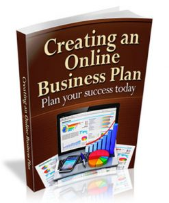 Creating an Online Business Plan Ebook MRR