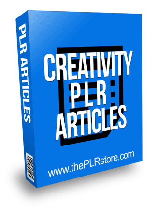 Creativity PLR Articles with Private Label Rights