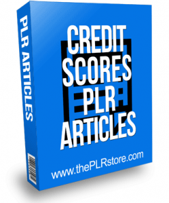 Credit Score PLR Articles