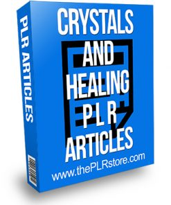 Crystals and Healing PLR Articles