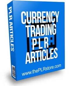 Currency Trading PLR Articles