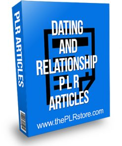 Dating and Relationship PLR Articles