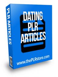 Dating PLR Articles