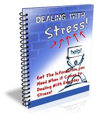 Dealing with Stress PLR Autoresponder Messages dealing with stress plr ar series cover