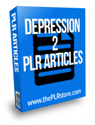 depression plr articles 2