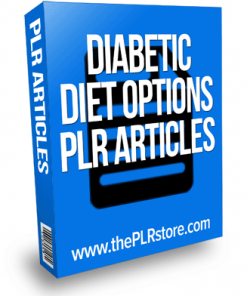 diabetes diet options plr articles