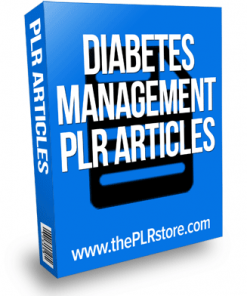 diabetes management plr articles