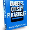 diabetes obesity plr articles