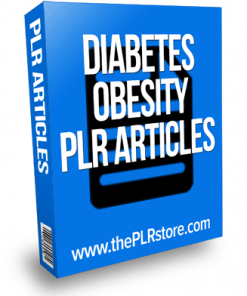 diabetes obesity plr articles