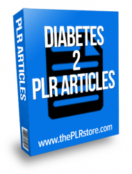diabetes plr articles private label rights