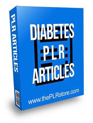 Diabetes PLR Articles