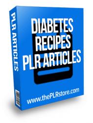 diabetes recipes plr articles