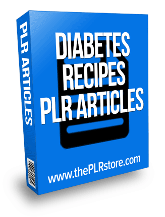 diabetes recipes plr articles