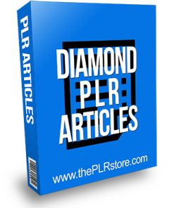 Diamond PLR Articles