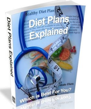 Diet Plans Explained PLR Ebook
