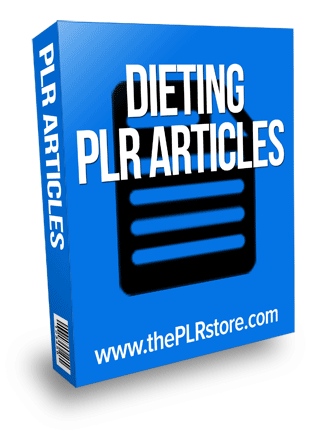 dieting plr articles