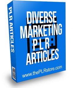 Diverse Marketing PLR Articles