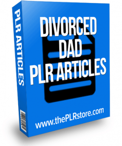 Divorced Dad PLR Articles