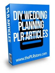 diy-wedding-planning-plr-articles  DIY Wedding Planning PLR Articles diy wedding planning plr articles 190x250