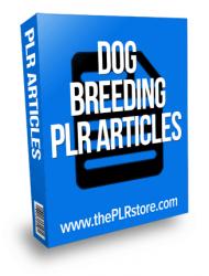 dog breeding plr articles
