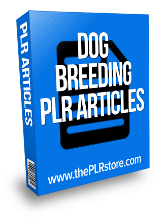 dog breeding plr articles