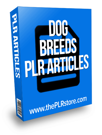 dog breeds plr articles