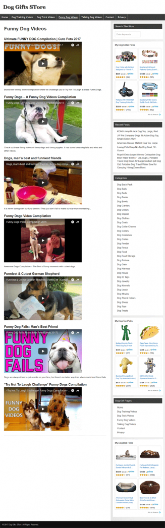 dog gifts plr amazon store