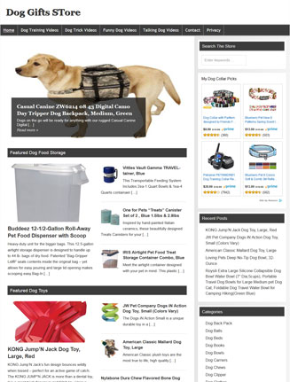 dog gifts plr amazon store