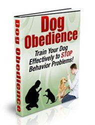 dog obedience plr ebook