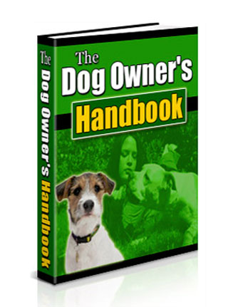 dog owners handbook plr ebook