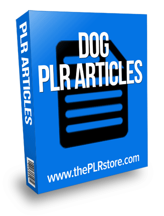 dog plr articles