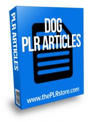 dog plr articles
