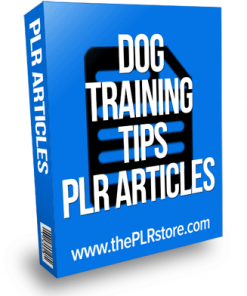 dog training tips plr articles