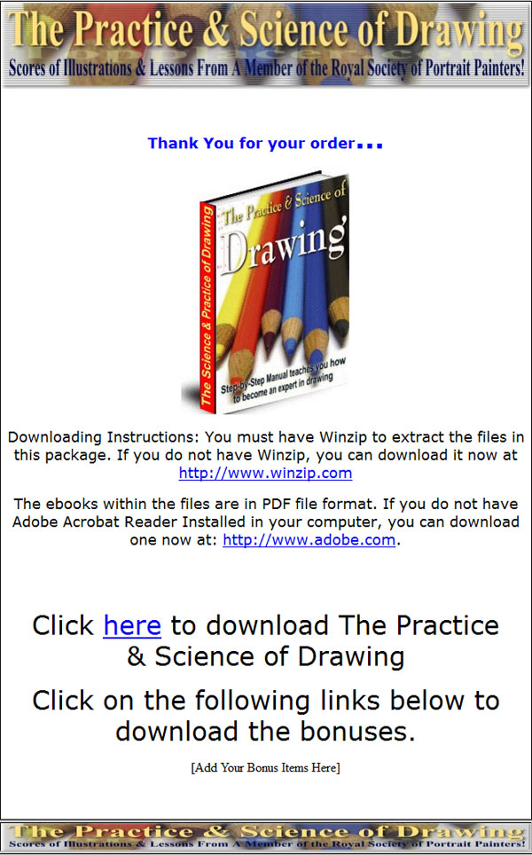 drawing plr ebook - private label rights