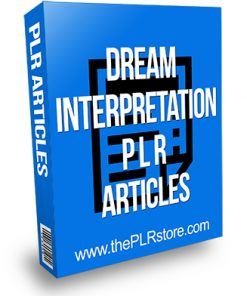 Dream Interpretation PLR Articles