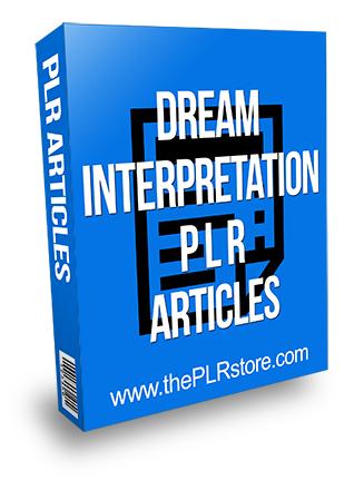 Dream Interpretation PLR Articles