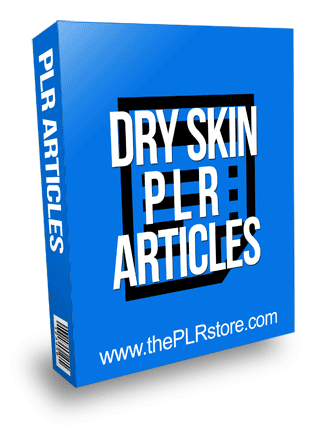 Dry Skin PLR Articles with Private Label Rights