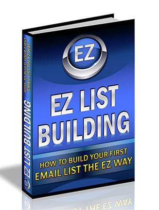 easy list building plr ebook