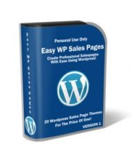 easy-wordpress-salespages-plr-cover  Easy Wordpress Salespages PLR Pack easy wordpress salespages plr cover 190x238