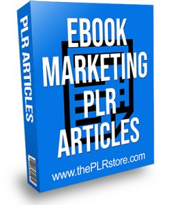 Ebook Marketing PLR Articles