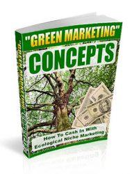 eco green niche marketing plr ebook
