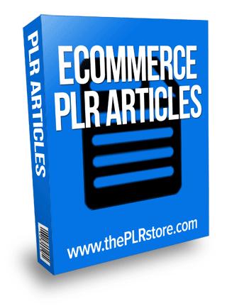 ecommerce plr articles