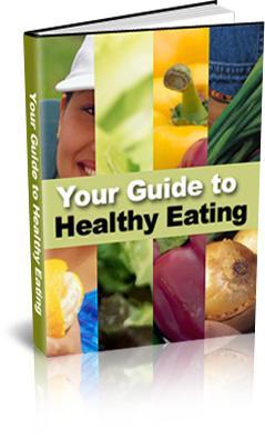 healthy eating plr ebook