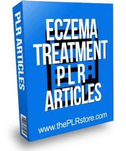 Eczema Treatment PLR Articles