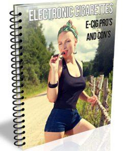 electronic cigarettes plr report