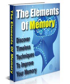 elements of memory plr ebook
